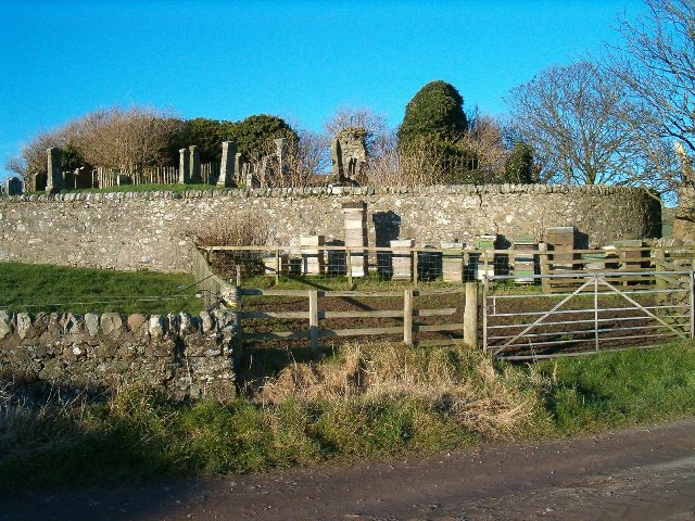 Church Ruins and Beehives