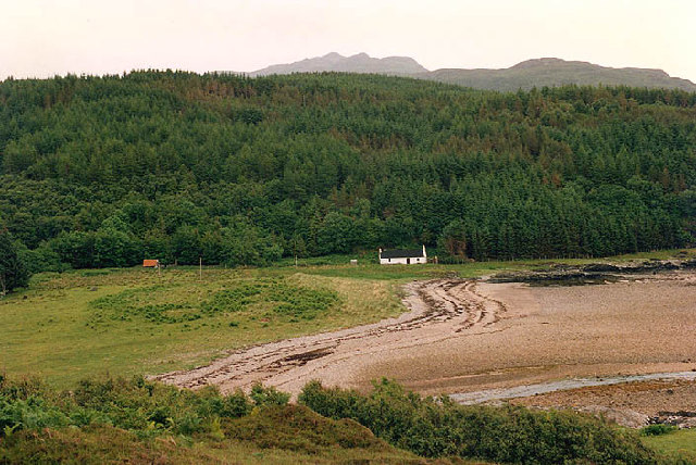 "Bay inside Sandaig Islands, ""Camusfearna"""