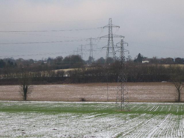 Farmland Near Pickford and the A45