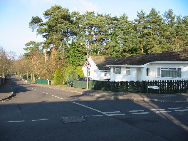 Junction of Park Lane and Earlswood Drive Alderholt