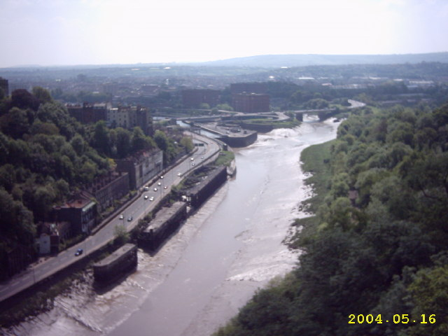 View from Clifton Suspension Bridge