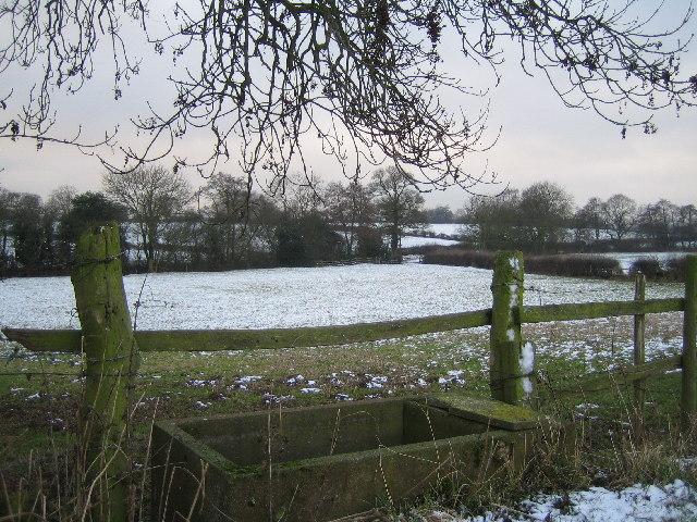 Farmland near Brook Farm