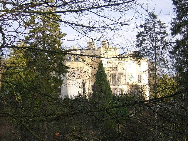 Crossbasket Castle Shrouded in Trees