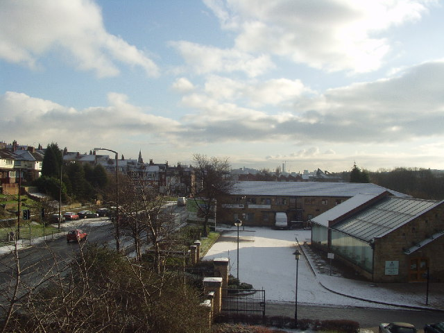 Kirkstall Road from Waterside House