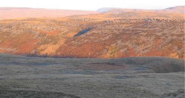 North portion of Tyle Garw