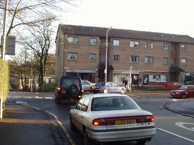 The junction of Greenwood Rd and Eaglesham Rd