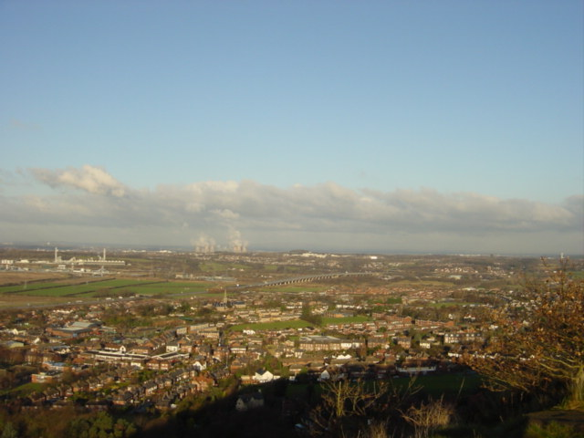 Vista from Frodsham Hill