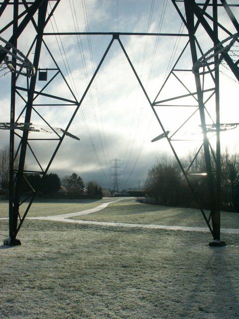 Pylons, Haydon Hill