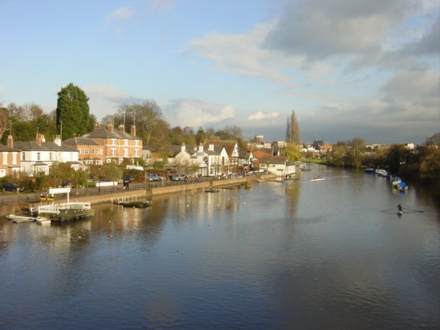 North Bank of the River Dee at Chester