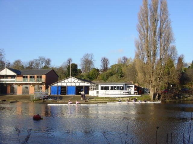 Rowing Club on River Dee