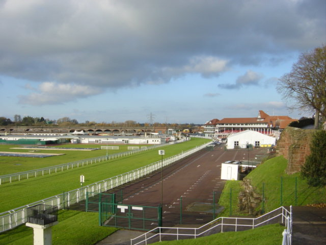 Chester Race Course from the City Walls