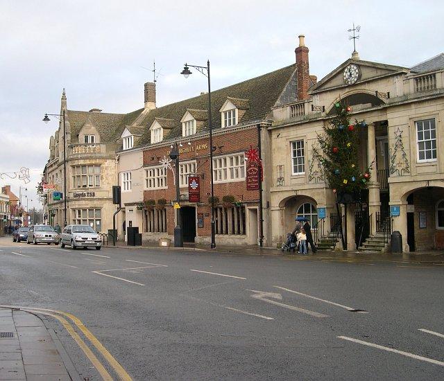 Bourne Town Centre