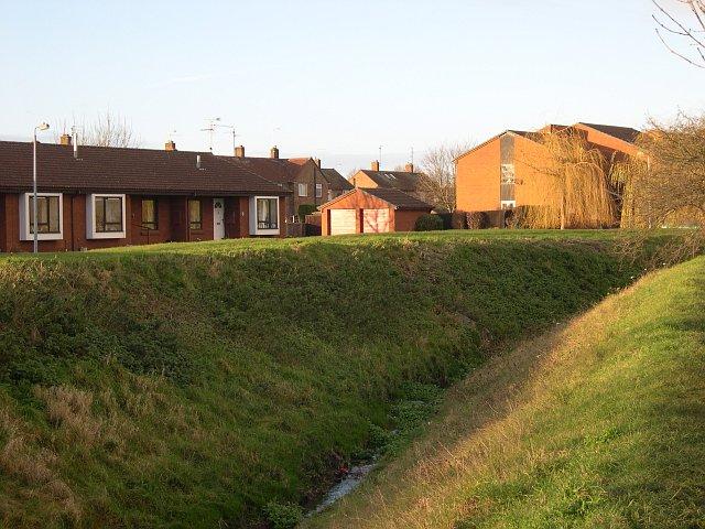 Modern Housing Estate by The Car Dyke