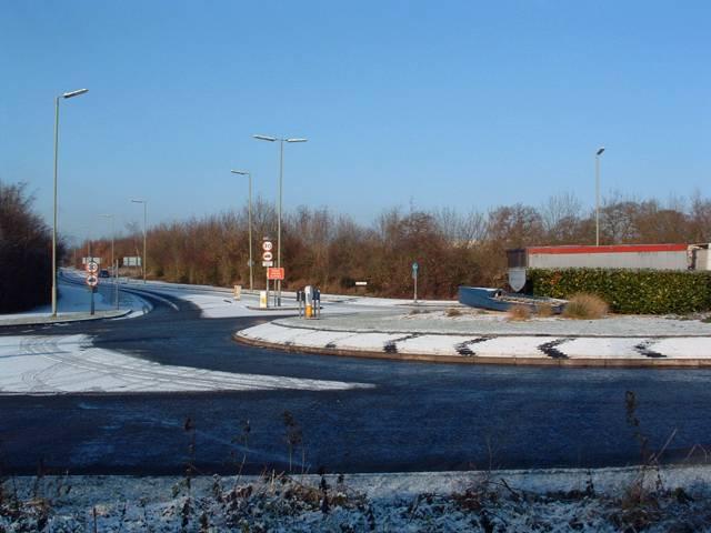 Wretchwick-Gavray-Charbridge Lane Roundabout