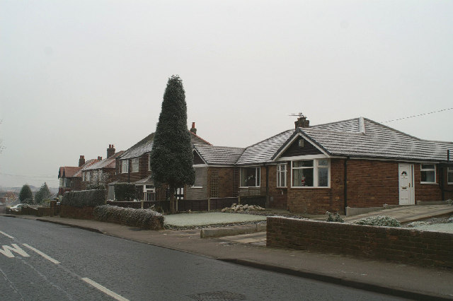 Suburbia in Wigan