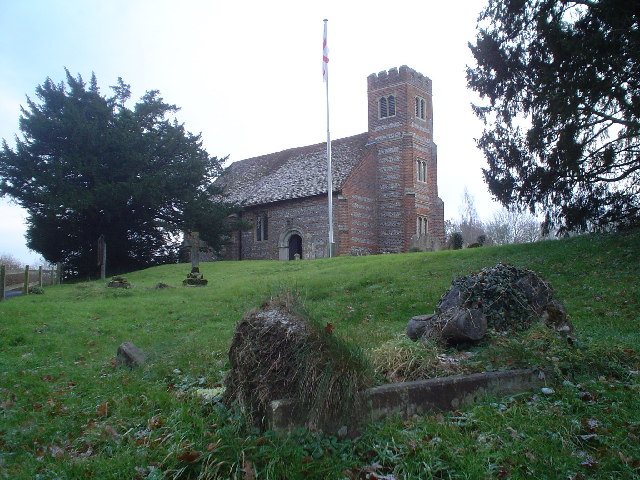 St Stephens church, Up Nately