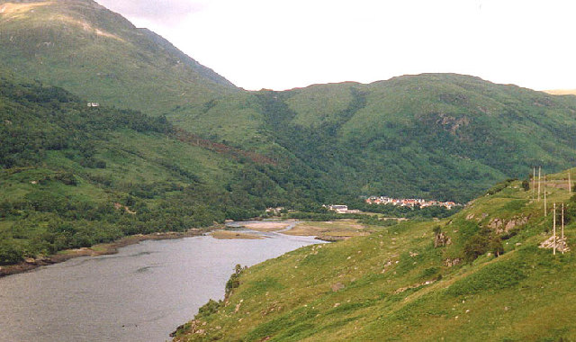 Head of Loch Leven with Kinlochleven