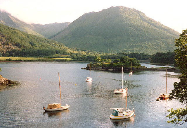 Bay at N. Ballachulish looking to Sgorr Dhearg