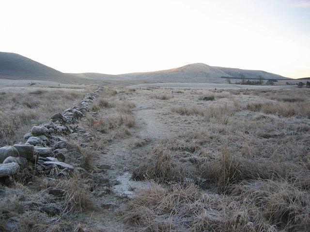 Frozen path, Harperrig.