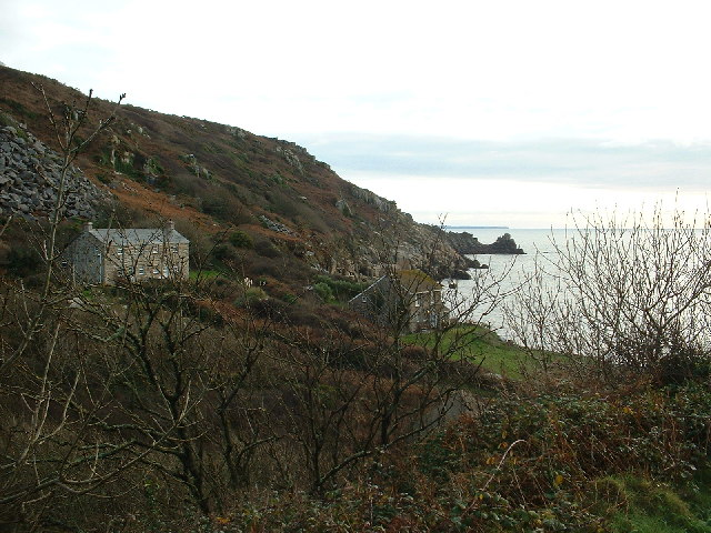 Winter in Lamorna Cove