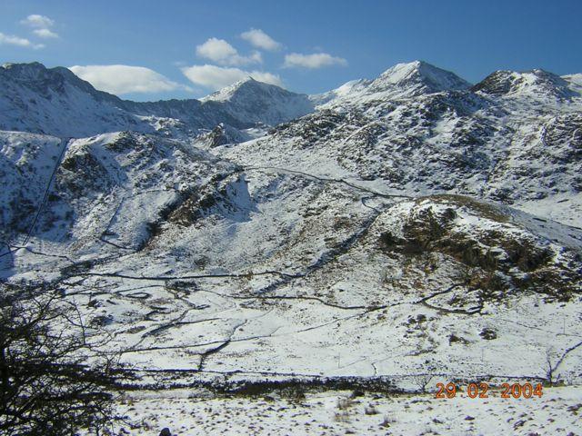 Snowdon from near Ceunant Ifan.