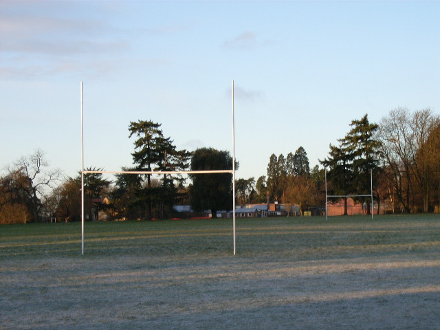 The playing fields at Gillott's School, Henley