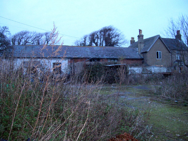 Derelict building, Sefter Bottom