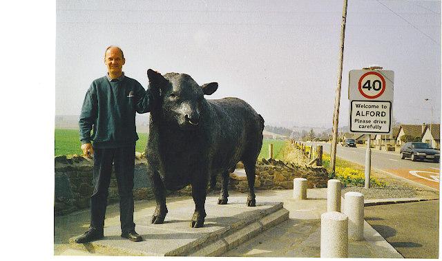 Alford, Aberdeen Angus Bull Statue