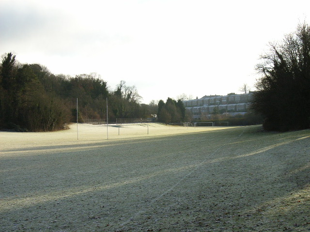 The playing fields at Henley College