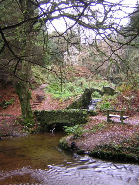 Ornamental Bridges, Glynllifon Country Park.