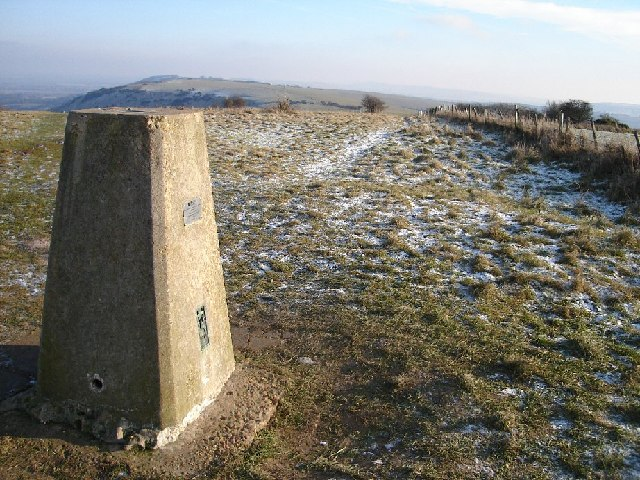 Ditchling Beacon Trig Point