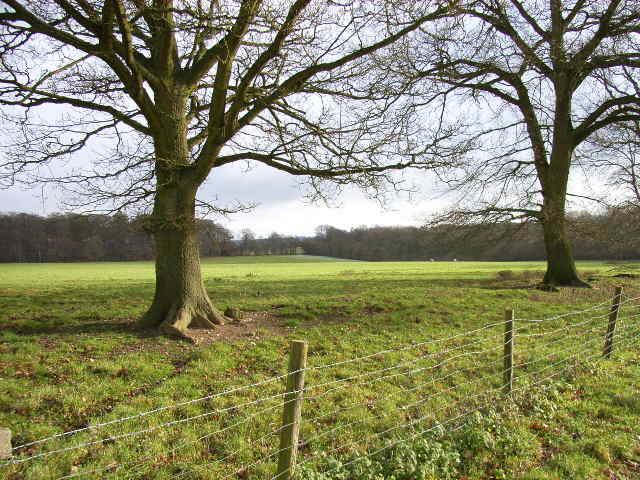 Farmland near Upper Woodend Farm