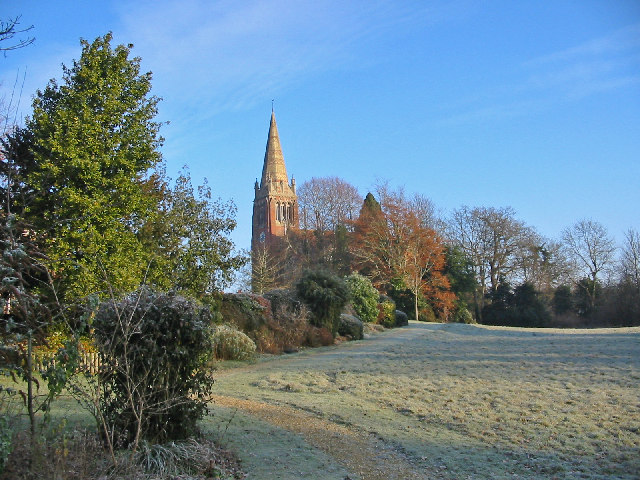 The Church of St Michael and all Angels  Lyndhurst Hampshire