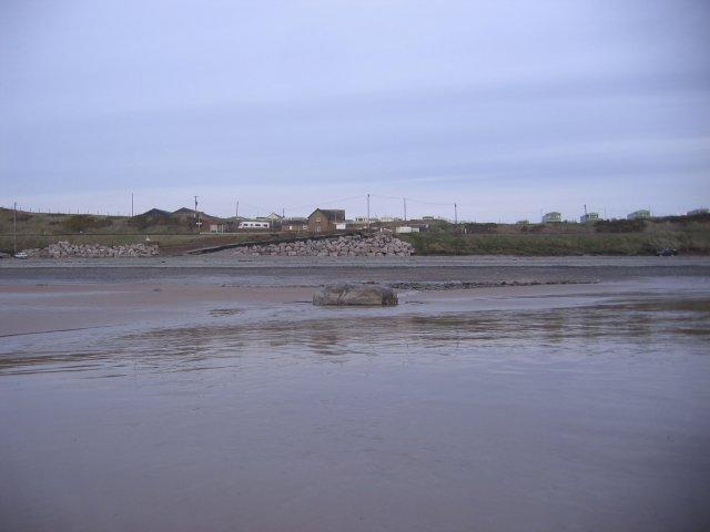 Braystones wet beach.