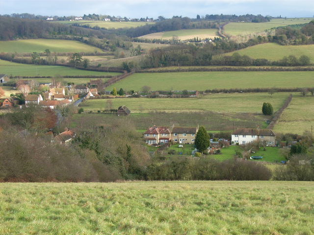 The southern end of Skirmett