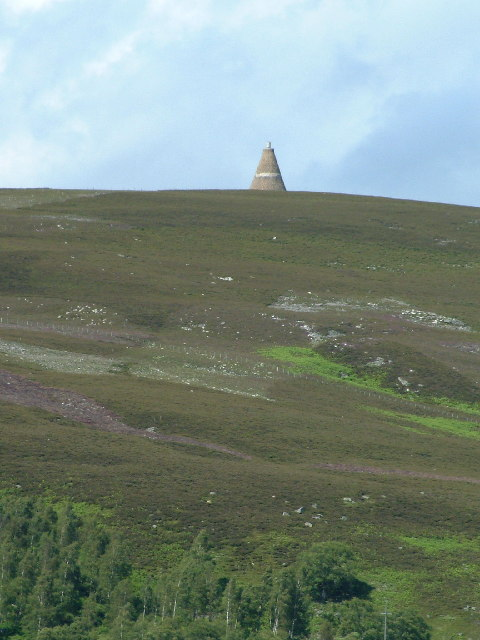 Conical Monument on Hill of Rowan