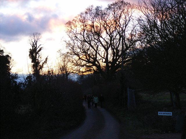 Harleyford Lane near Marlow