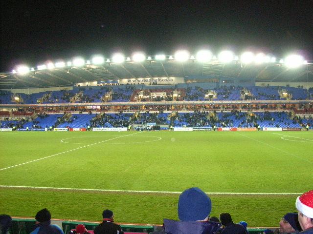 Premiership-bound: The Madejski Stadium