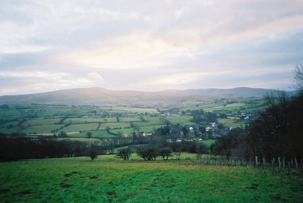Looking down the hill to Caldbeck