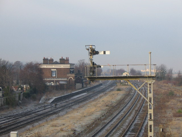 Holywell Junction station