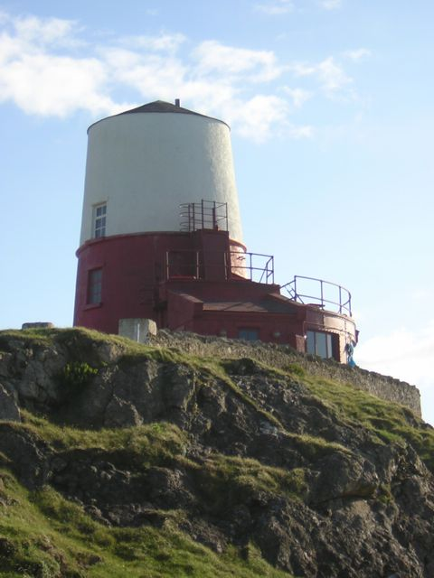 "Llanddwyn Lighthouse made up for ""Halflight"" movie"