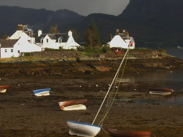 Low Tide at Plockton