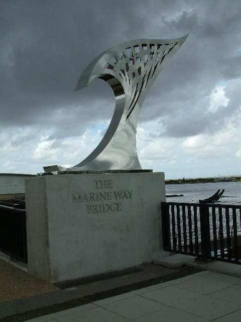 The Marine Way Bridge