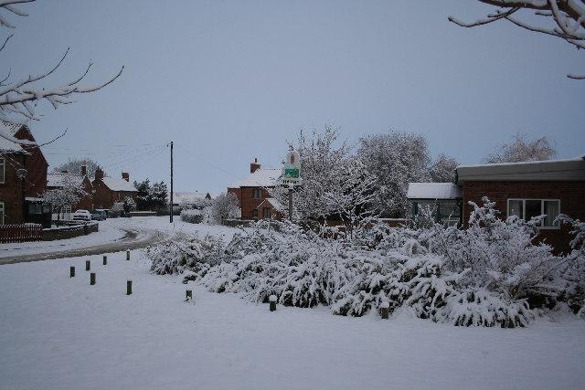 Harby village centre
