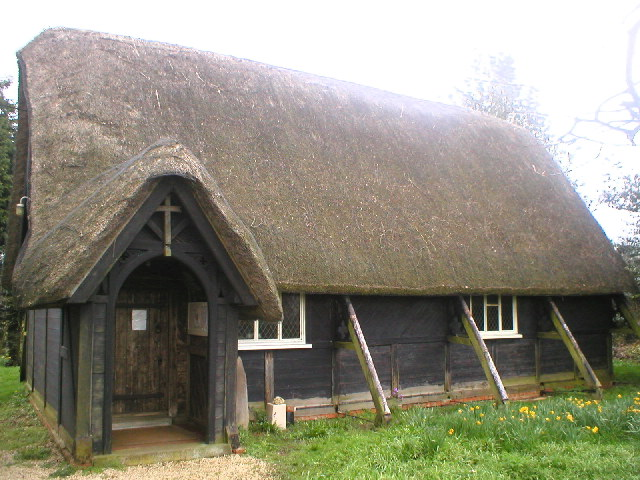 Thatched Church at Sandy Lane
