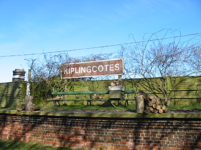 Railway Sign, Kiplingcotes Railway Station