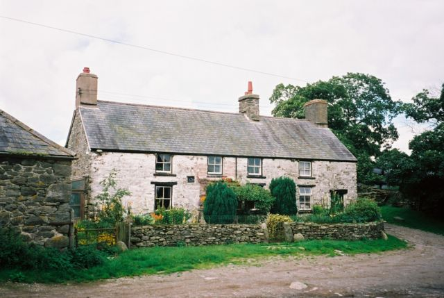 Cwm-main Farmhouse.