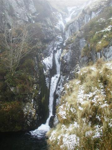 Upper Waterfall (500m contour), Roughten Gill