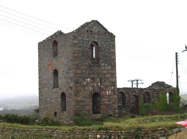 Engine House at Dolcoath Mine