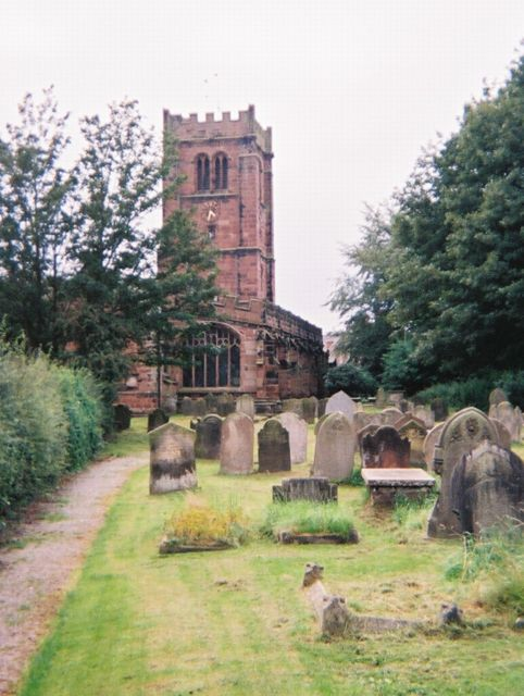 St. Andrew's Parish Church.